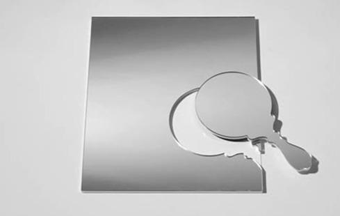 신기한 디자인 : 거울. 특이하고 기발한 아이디어의 거울 디자인 ...