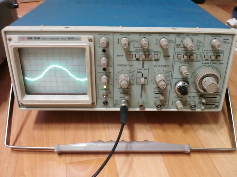 broneri homebrew story :: kenwood & hungchang 100MHz readout