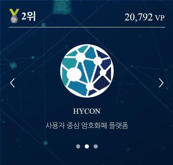 유기견과 길냥이를 위한 하이콘 [HYCON] 응원 이벤트