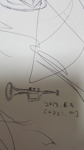 [낙서]나팔 또는 트럼펫