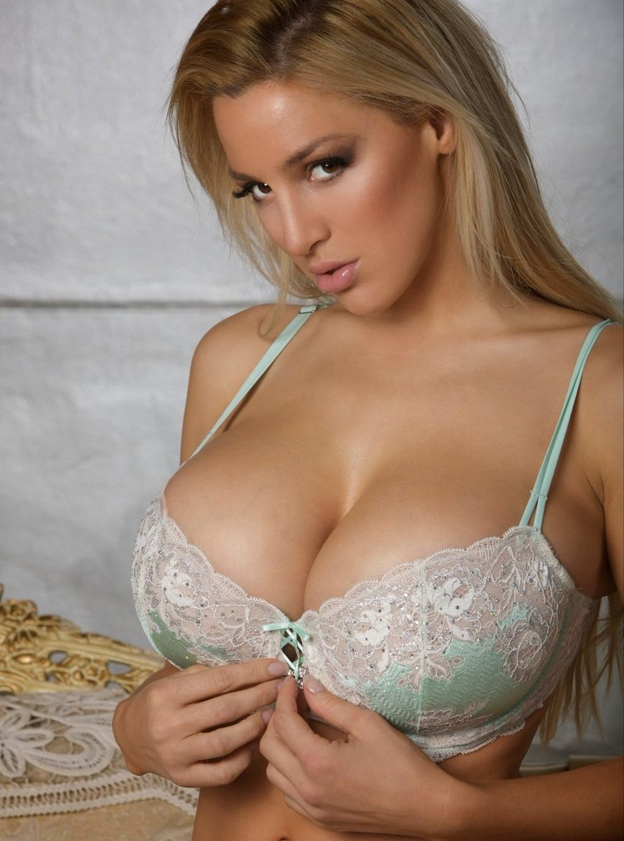 hot glamour in sexy bra